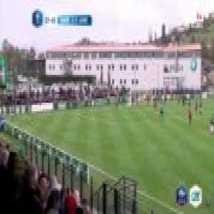 AS Saint-Étienne U19 2-0 Lille OSC U19 - B. Benkhedim 38' - Direct Freekick [Coupe Gambardella QF]