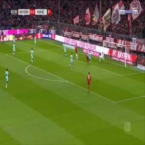 Bayern 1-0 Mainz - Robert Lewandowski 3'
