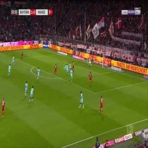 Bayern 2-0 Mainz - James Rodriguez 33'