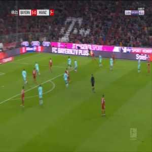 Bayern 6-0 Mainz - Alphonso Davies 70'