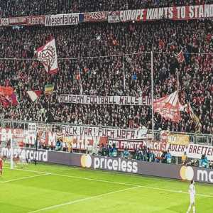Bayern Munich have been charged by the UEFA after their fans held an anti VAR banner against Liverpool