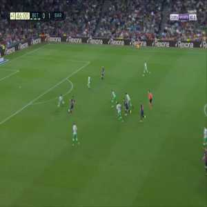 Betis 0-2 Barcelona - Lionel Messi 45'+2'