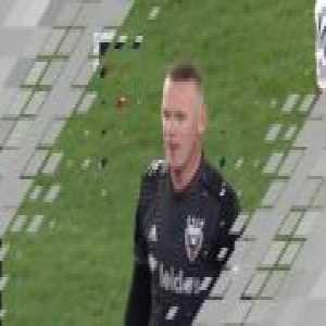 DC United 2-0 Real Salt Lake - Wayne Rooney 41'