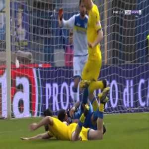 Empoli 1-0 Frosinone - Francesco Caputo penalty 20'