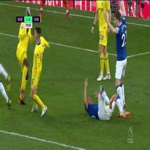 Everton 2-0 Chelsea: Sigurdsson (PK + Foul)