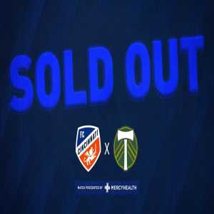 [FC Cincinnati] sells out its first MLS home match, with a crowd of 32,250