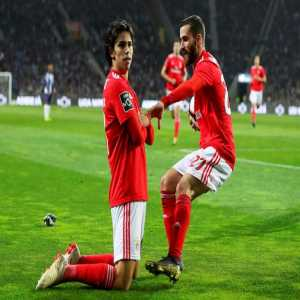 """João Félix on the celebration of his goal against FC Porto: """"I really like Kylian Mbappé as a player and I like this celebration. I thought it was time to do it. Mbappé is currently the striker I like the most."""""""