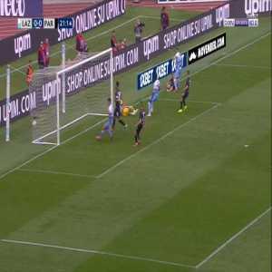 Lazio 1-0 Parma - Adam Marusic 22'