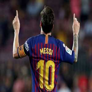 Messi has just passed Xavi as the player with most official wins in Spain's history (477)