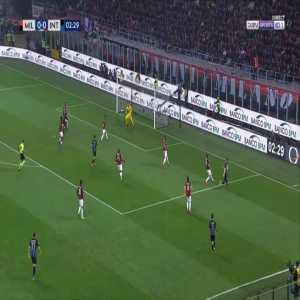 Milan 0-1 Inter - Matias Vecino 3'