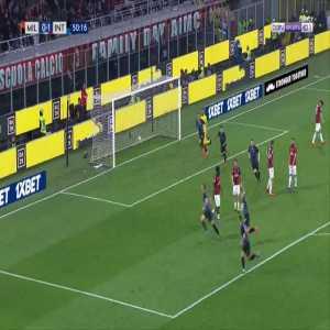 Milan 0-2 Inter - Stefan de Vrij 51'
