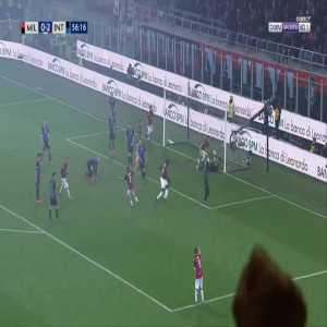 Milan [1]-2 Inter - Tiemoue Bakayoko 57'