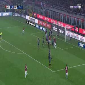 Milan [2]-3 Inter - Mateo Musacchio 71'