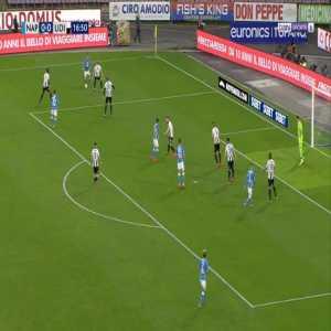 Napoli 1-0 Udinese - Amin Younes 17'