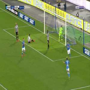 Napoli 2-0 Udinese - Jose Callejon 26'