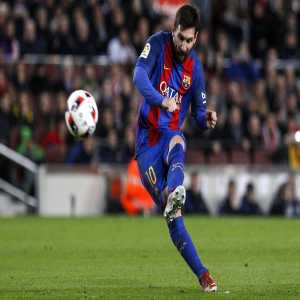 Since 2011-2012 season, Messi has scored 25 free kick goals, that's more than Real Madrid (24), Lyon (22), Roma/PSG (21) & Liverpool (19). The only team that beats Messi is Juventus (29).