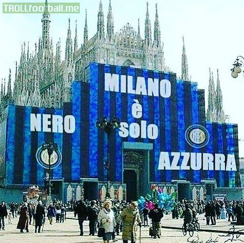 """Mauro Icardi On Instagram:""""Milan Is Only Black And Blue"""""""