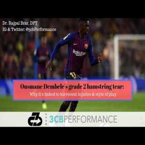 [OC] Ousmane Dembele's grade 2 hamstring tear: When to expect his return and why the injury is linked to his previous injuries and style of play