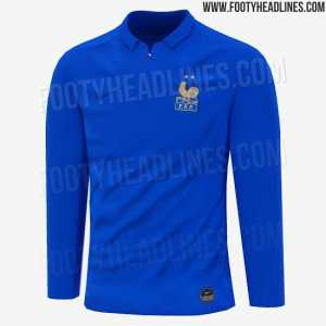 Against Iceland, France will wear a special kit to commemorate the 100th anniversary of the founding of the FFF