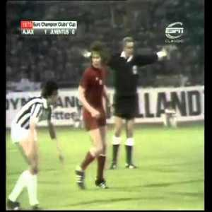 Ajax - Juventus European Cup final 1973 1-0