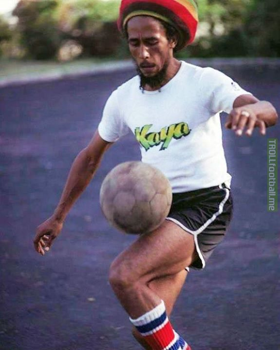 """Football is a part of I. When I play the world wakes up around me."" - Bob Marley"