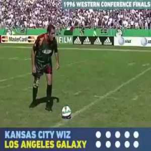 Never knew this existed - MLS penalties shootout 1996