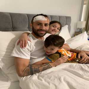 "Ospina: ""Thank you from the bottom of my heart to everyone for your prayers and your thoughts. I am fine and recovering with my family. I hope to be back soon and stronger than ever!"""