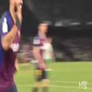 Player and Fan reactions to Messi's Hat Trick Goal vs Betis