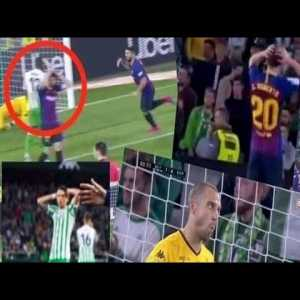 Reactions toMessi magical goal against Real Betis