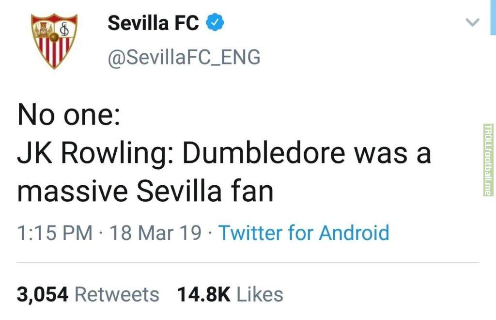 Sevilla Admin joins in
