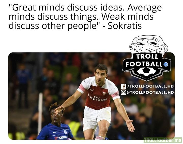 Sokratis shares an important message!!!