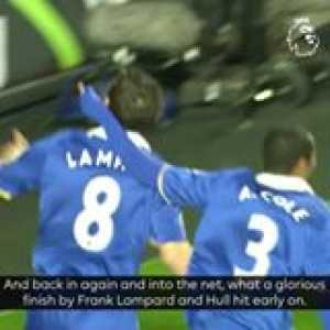 A classic in the genre of quality PL chips, by Frank Lampard 😍  GoalOfTheDay Chelsea Football Club