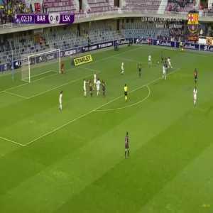 Barcelona W 1-0 Lillestrøm W - T. Duggan 3' [Women's Champions League]