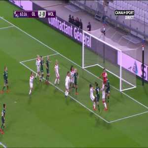 Lyon W 2-[1] Wolfsburg W - N. Fischer 64' [Women's Champions League]