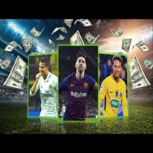 Messi surpassed Ronaldo on the highest-paid players for the first time