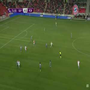 Slavia Praha W [1]-1 Bayen München W - K. Svitkova 72' - Great Goal [Women's Champions League]