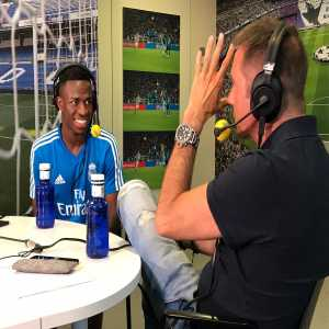 "Vinicius Jr: ""Barcelona was going to pay more but i chose Real Madrid by the project. I chose the best"" [Cadena SER]"
