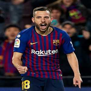 14 - Jordi Alba is La Liga defender with more goals involved this season in all competitions (2 goals and 12 assists).