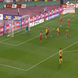 Belgium [3]-1 Russia - Eden Hazard 88'