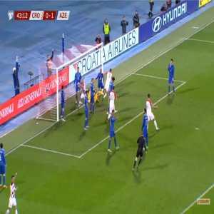 Croatia [1]-1 Azerbaijan - Borna Barisic 44'