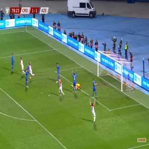 Croatia [2]-1 Azerbaijan - Andrej Kramaric 79'