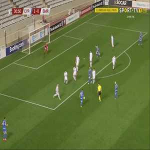 Cyprus 4-0 San Marino - Georgios Efrem 31'
