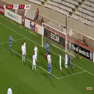 Cyprus 5-0 San Marino - Konstantinos Laifis 56'