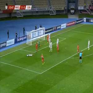 FYR Macedonia 1-0 Latvia - Egzijan Alioski 11'