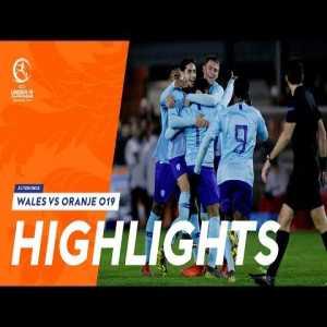 Highlights Netherlands U19 - Wales U19