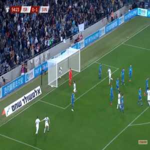 Israel [1]-1 Slovenia - Eran Zahavi 55'