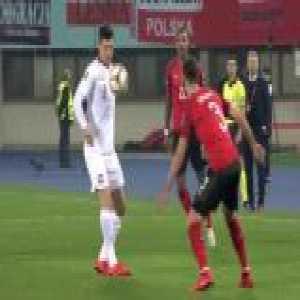 Lewandowski skill vs Austria