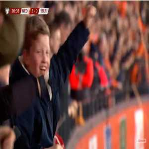 Netherlands 2-0 Belarus - Georginio Wijnaldum 21'