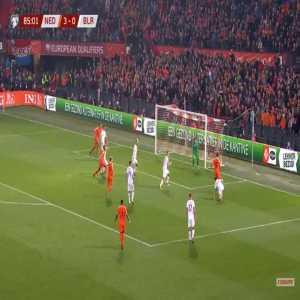 Netherlands 4-0 Belarus - Virgil Van Dijk 86'