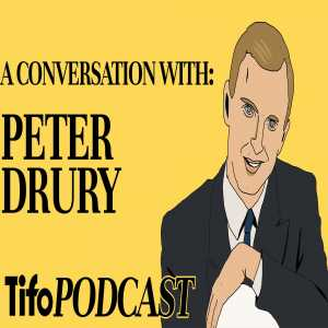 Tifo Football Podcast | Peter Drury joins @SebSB to discuss his career, commentating for Pro Evolution Soccer (PES) & the football broadcasting landscape.